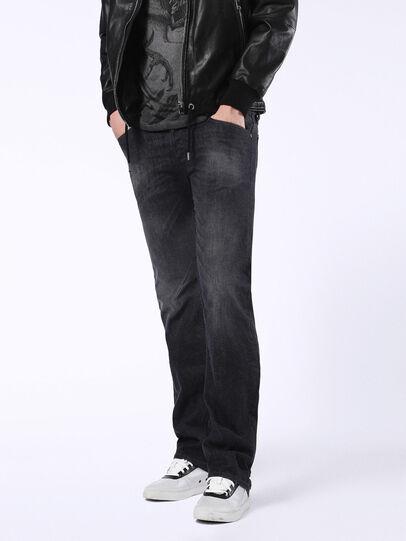 Diesel - Viker U0823, Black/Dark Grey - Jeans - Image 1