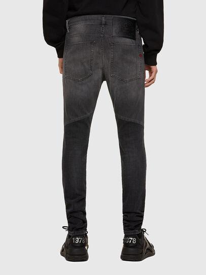 Diesel - D-Amny Skinny Jeans 009QE, Black/Dark Grey - Jeans - Image 2