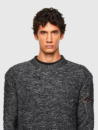 Diesel - K-JOSH, Black - Sweaters - Image 3