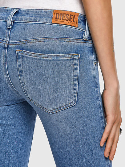 Diesel - Slandy Low Skinny Jeans 009ZY, Light Blue - Jeans - Image 4