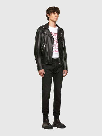 Diesel - Thommer Slim Jeans 069PW, Black/Dark Grey - Jeans - Image 5