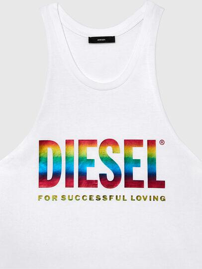 Diesel - BMOWT-LOCOARM-P, White - Tops - Image 3