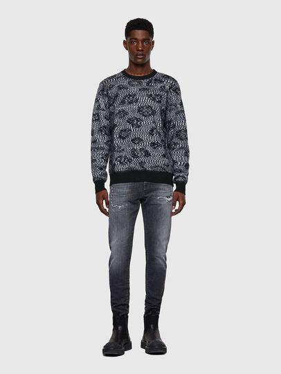 Diesel - K-AZOTIC, Black/Grey - Sweaters - Image 5