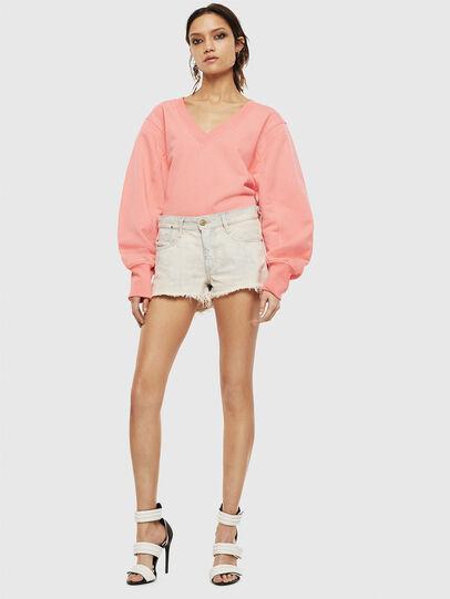 Diesel - F-AKIN, Pink - Sweatshirts - Image 6
