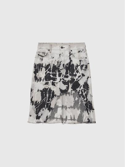 Diesel - DE-ELLYOT-SP, White/Black - Skirts - Image 1