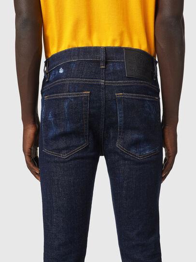 Diesel - D-Amny Skinny Jeans 09A84, Dark Blue - Jeans - Image 4