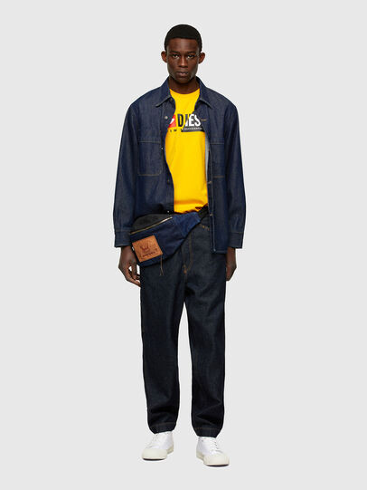 Diesel - T-DIEGO-CUTY, Yellow - T-Shirts - Image 4