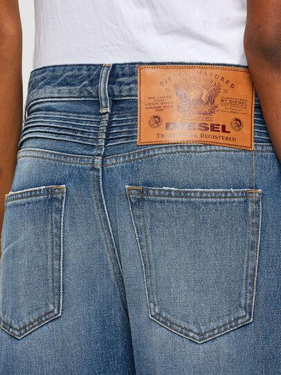 Diesel - D-Reggy Straight Jeans 009RK, Medium Blue - Jeans - Image 4
