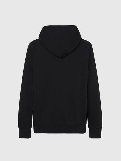 Diesel - S-GIRK-HOOD-X2, Black - Sweatshirts - Image 2