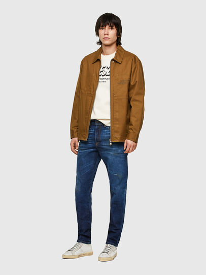 Diesel - D-Fining Tapered Jeans 009NG, Dark Blue - Jeans - Image 5