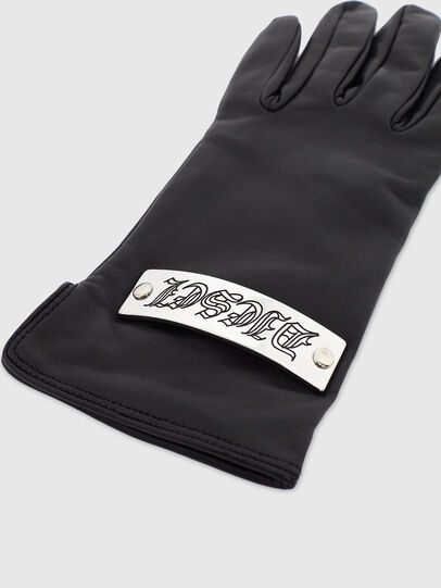 Diesel - G-PLACKI, Black - Gloves - Image 2
