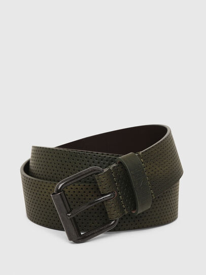 Diesel - B-LOLLO, Olive Green - Belts - Image 2