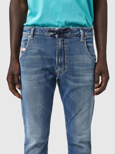 Diesel - Krooley Tapered JoggJeans® Z69VK, Medium blue - Jeans - Image 3