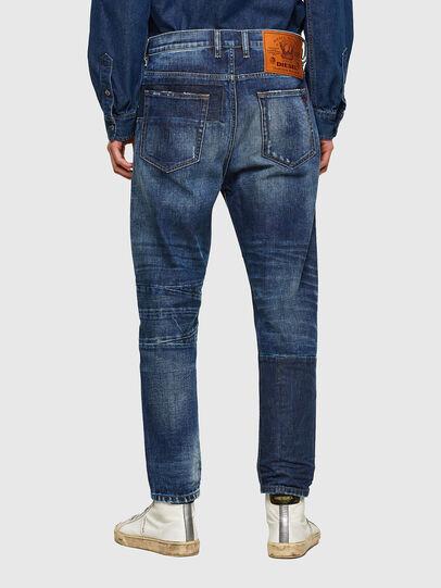 Diesel - D-Vider Carrot Jeans 009NJ, Medium Blue - Jeans - Image 2