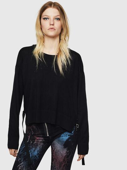 Diesel - M-PERLA, Black - Sweaters - Image 1