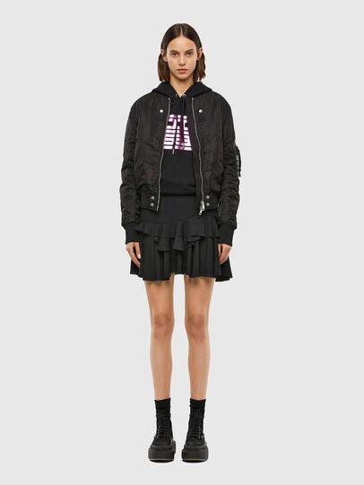Diesel - O-KOEPY, Black - Skirts - Image 5