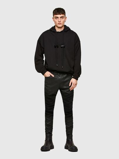 Diesel - D-Amny Skinny Jeans 009RA, Black/Dark Grey - Jeans - Image 6