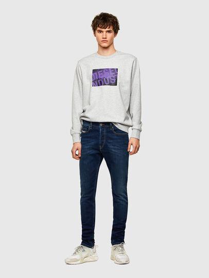Diesel - D-Luster Slim Jeans 009ML, Dark Blue - Jeans - Image 5