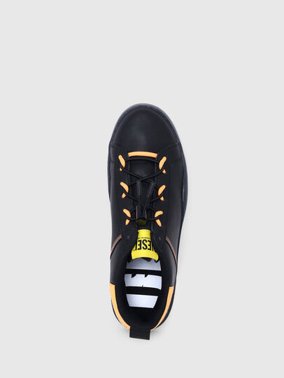 Diesel - S-CLEVER SO C, Black/Yellow - Sneakers - Image 6
