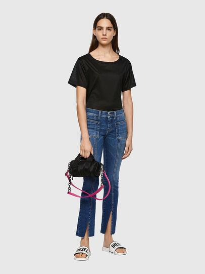 Diesel - Slandy Skinny Jeans 009ZW, Medium Blue - Jeans - Image 5