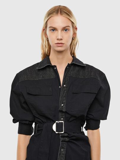 Diesel - D-CALYN, Black - Dresses - Image 3