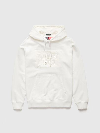 Diesel - DxD-21, White - Sweatshirts - Image 1