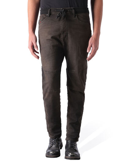 Diesel - Narrot JoggJeans 0848G, Black/Dark Grey - Jeans - Image 1