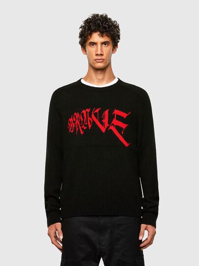 Diesel - K-WILSON, Black - Sweaters - Image 1