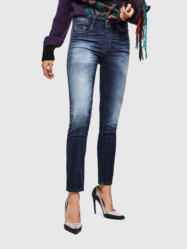 D-Ollies JoggJeans 069IE, Dark Blue - Jeans