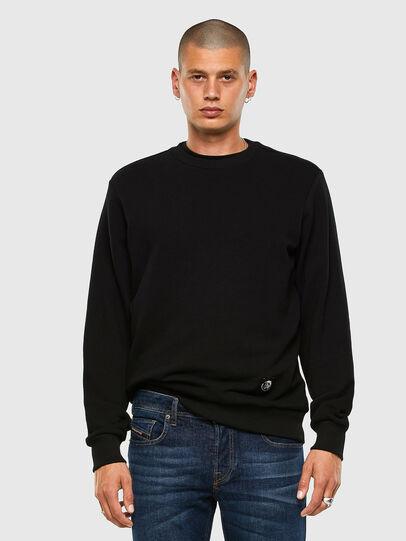 Diesel - S-GIRK-MOHI, Black - Sweatshirts - Image 4