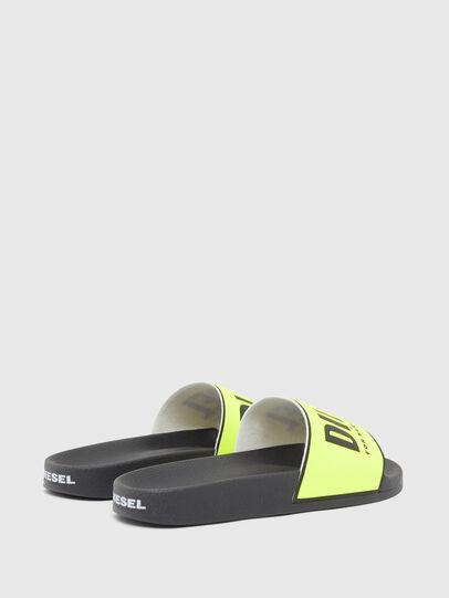Diesel - SA-VALLA, Black/Yellow - Slippers - Image 3