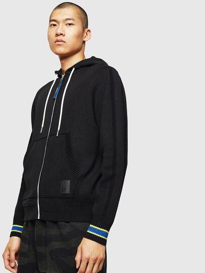 Diesel - K-SAMU, Black - Sweaters - Image 1