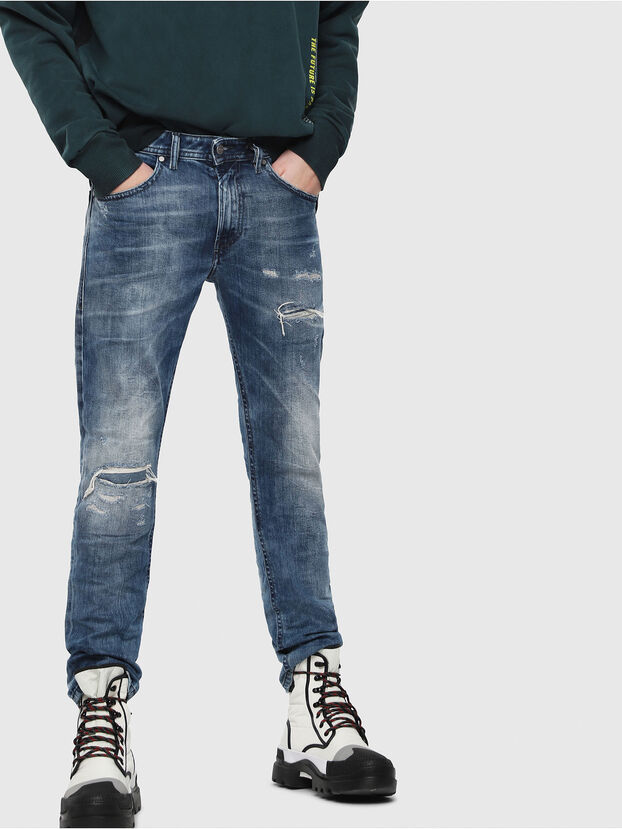 Thommer 082AH, Medium Blue - Jeans