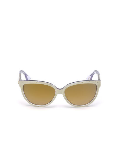 Diesel - DM0139, Gold - Sunglasses - Image 1
