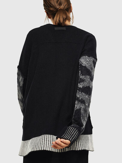 Diesel - M-POST, Black - Sweaters - Image 2