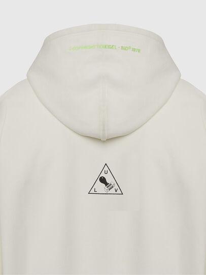 Diesel - S-ALBY-X2, White - Sweatshirts - Image 4