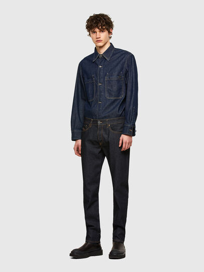 Diesel - D-Fining Tapered Jeans 009HF, Dark Blue - Jeans - Image 5