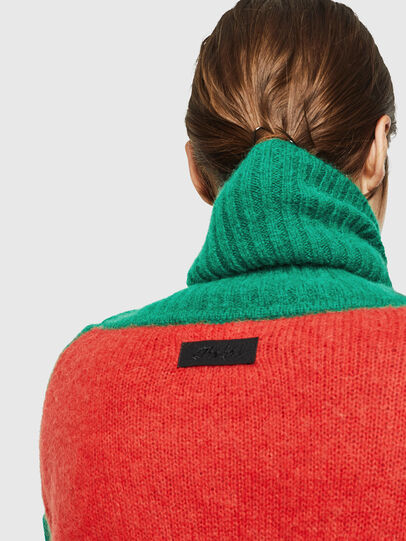 Diesel - M-PERSIA, Green/Red - Sweaters - Image 6