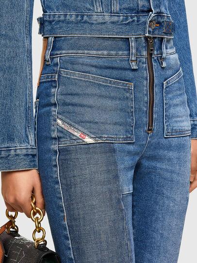 Diesel - D-Earlie Bootcut Jeans 009NP, Medium Blue - Jeans - Image 3