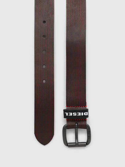 Diesel - B-CAVA, Black/Red - Belts - Image 3