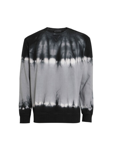 Diesel - FLOXY, Black/White - Sweatshirts - Image 1