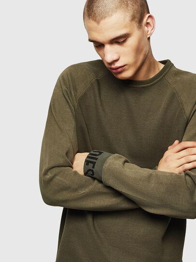 Diesel - S-KOBLER, Military Green - Sweatshirts - Image 3