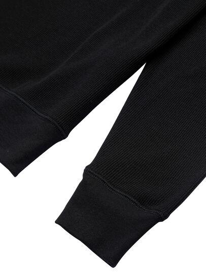 Diesel - UMLT-WILLY-W, Black - Sweatshirts - Image 4