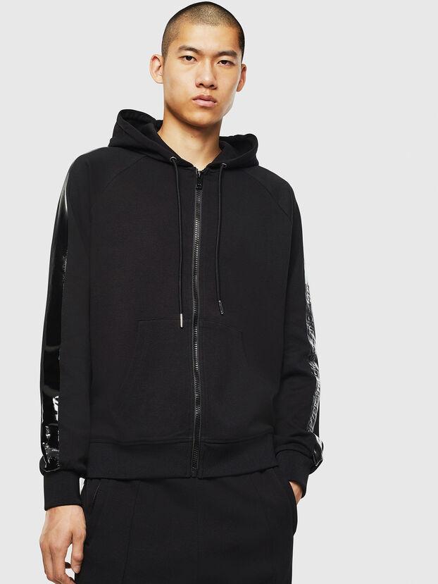 S-GIMK-HOOD-J, Black - Sweatshirts