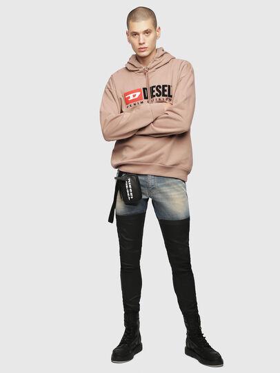 Diesel - S-DIVISION, Face Powder - Sweatshirts - Image 4