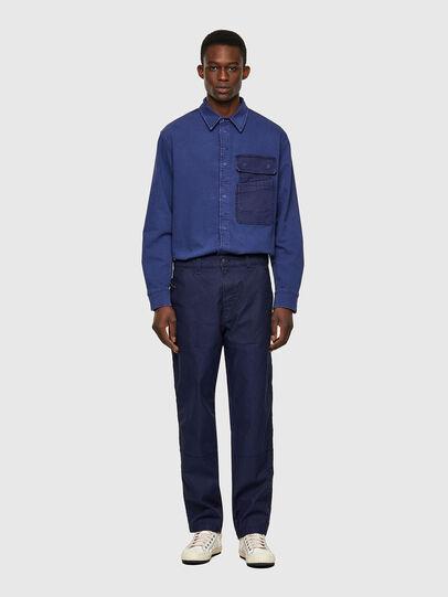 Diesel - D-Azerr Straight JoggJeans® 069WI, Medium Blue - Jeans - Image 5