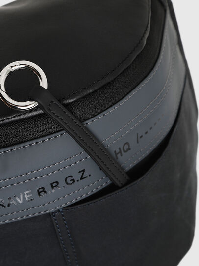 Diesel - FELTRE BIG, Black/Blue - Belt bags - Image 4