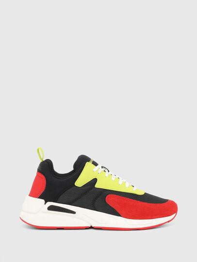 Diesel - S-SERENDIPITY LOW CU, Black/Red - Sneakers - Image 1