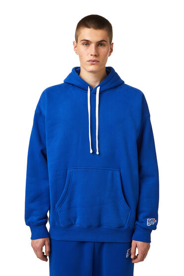 Hoodie with DSL wave patch
