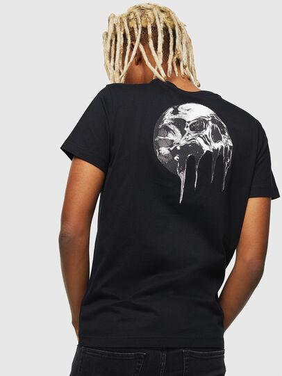 Diesel - T-DIEGO-J10, Black - T-Shirts - Image 2